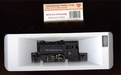 IHC HO B&O Dockside with valve gear. New in box.