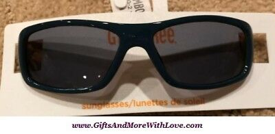 Gymboree NWT Navy Blue Yellow ACCENT TWO TONE SPORTY DRESS SUNGLASSES 0 1 2 Y
