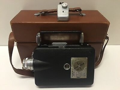 Vintage Kodak Cine Magazine 16 Movie Camera W/Case