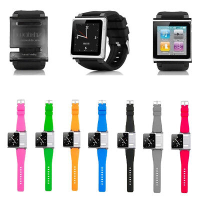 1Pc Watch Generation Silicone Band Wrist Strap Cover For Apple iPod Nano 6 6th