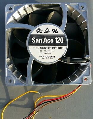 Sanyo Denki San Ace 120 120mm 12V 4A fan