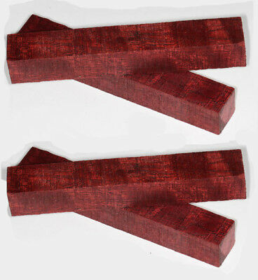 Pen Blanks Purpleheart Rare Turning Blanks Medium Length 120mm Four Pack