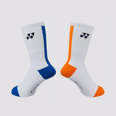 One Pair Yonex 19001LCW Sports Socks, White, Made in Japan, Size M (25 - 28 cm)