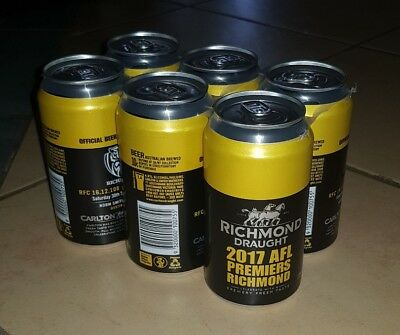 Richmond Draught 2017 Grand Final Limited Edition 6 Pack