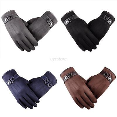 Men Winter Warm Driving Smartphone Touch Screen Gloves Full Finger Mittens Lots