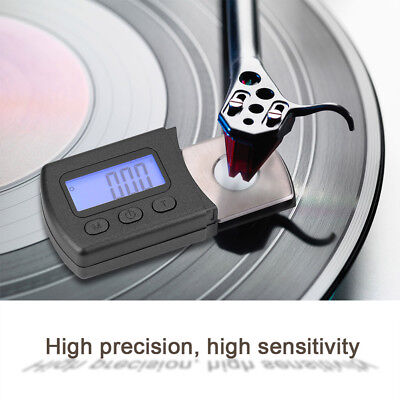 Digital Turntable Stylus Needle Force Scale Gauge LED For LP Record Player Phono