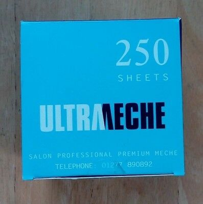 Easi Meche Highlights Highlighting Foil 250 Sheets Short Ultrameche Hairdressers