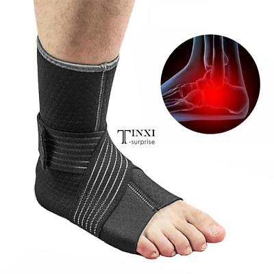 Ankle Support Compression Strap Achilles Tendon Brace Sprain Protect A++