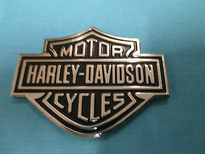 Harley Badge - Aluminium Bar and Shield Design