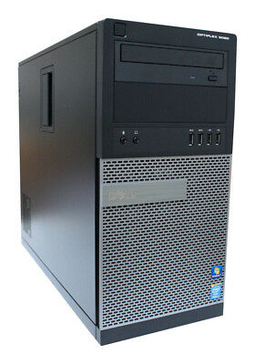 Tower Dell Optiplex 9020 T - i5-4670 - 8 GB RAM - 500 GB HDD - WINDOWS 10 PRO