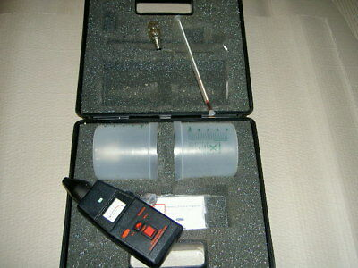 Awi Tm304 Microwave Leakage Detector Used With Carry Case
