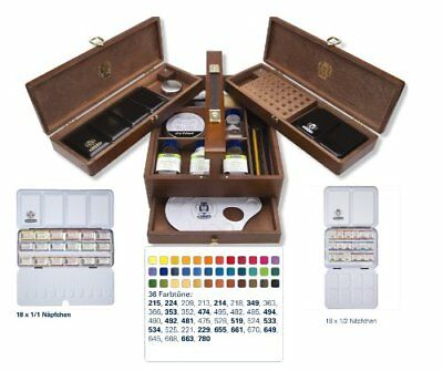Schmincke Horadam Watercolour Luxory Chest