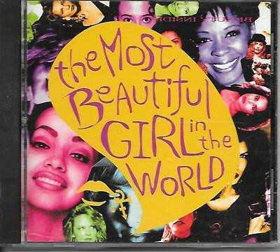 PRINCE RARE The Most Beautiful Girl In The World US Picture Disc CD Single