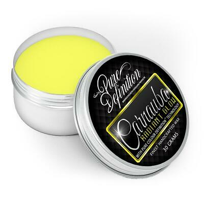 Carnauba Radiant Glow 30g | Yellow Car Wax | High Gloss -  Pure Definition ®