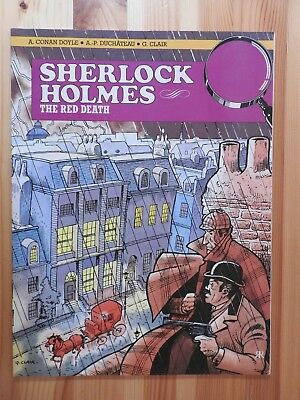 Sherlock Holmes: The Red Death graphic novel PB