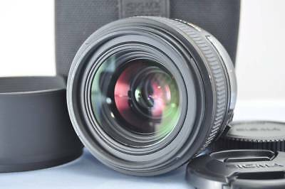 Exellent SIGMA 30mm F1.4 EX DC HSM For Canon W/Case