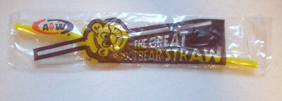 A&W  The Great Root Bear Straw unopen vintage package