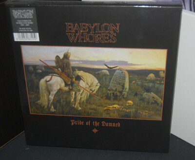 6 LP Box BABYLON WHORES the complete works PRIDE OF THE DAMNED (Mint)BLACK VINYL