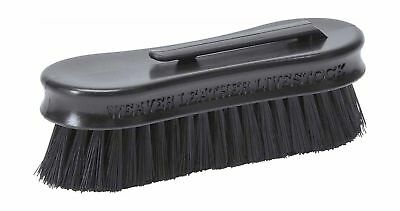 Weaver Leather Small Pig Face Brush Black
