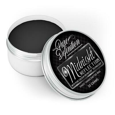 Black Car Wax Carnauba Midnight Reflection Mirror High Gloss 30g Pure Definition