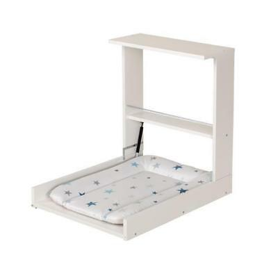 Geuther Table A Langer Murale Wicki Blanche Matelas A L