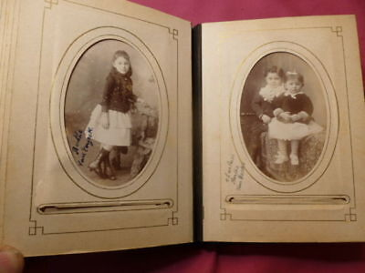 Album de famille 1900 Nord de la France 36 photos cabinet