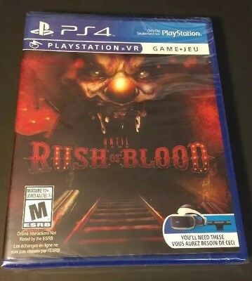 Until Dawn Rush of Blood [ PS VR Game / PSVR ] (PS4) NEW