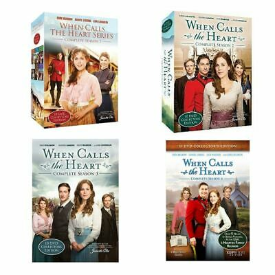 When Calls the Heart Seasons 1, 2, 3, 4 Collector's Edition Combo