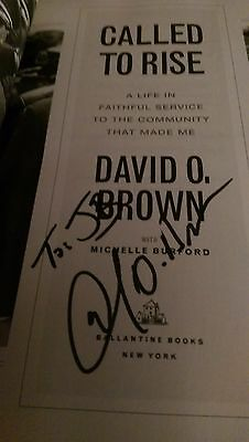 Called to Rise by David O. Brown and Michelle Burford SIGNED (JB)  June
