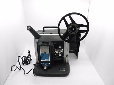 Vintage Keystone K-980s 8mm Movie Projector with Case