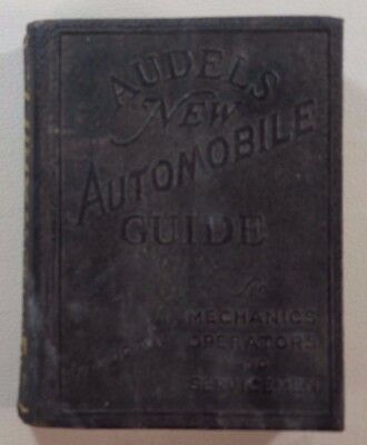 1944 Audels New Automobile Guide By Frank Graham Vintage Book B3