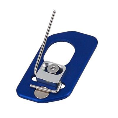 Archery Right Hand Alloy Magnetic Arrow Rest for Recurve Bow Royal Blue