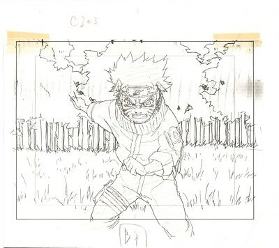 Anime Layout not Cel Naruto #1