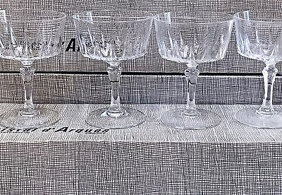 12 Vintage Cristal d'Arques Durand Versailles Crystal Sherberts NOS in Box