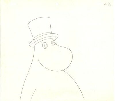 Anime Genga not Cel Moomin 4 pages #7