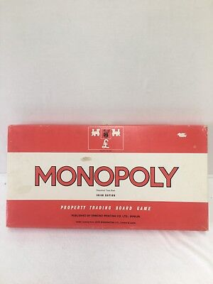 Vintage Monopoly Irish Edition Waddingtons Board Game