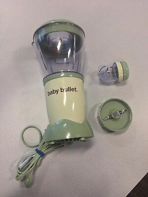 Magic Baby Bullet Blender with Extra Blade & Mini Storage Container *GUARANTEED*