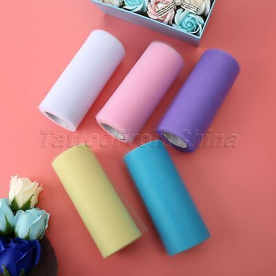 22m x 15cm Organza Roll Sheer Fabric Wedding Chair Sash Bows Table Runner Party