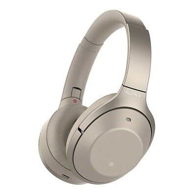 Sony WH-1000XM2 Wireless Noise Cancelling Headphones - Gold