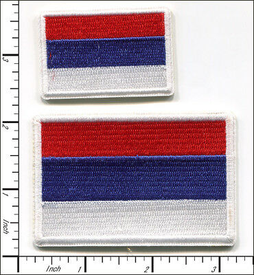 20 Pcs Embroidered Iron on patches National Flag Russia AP051rA