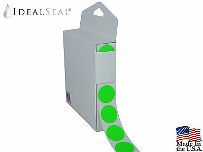 Coding Labels - Neon Green Color 1 Roll with Dispenser Box