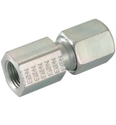 Hydraulic Compression Female Stud 1/8bspp 6mm 6L Pk4