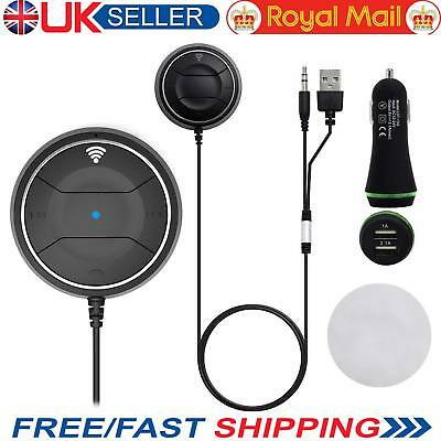 Music Receiver Bluetooth Car Kit-NFC Quick Pairing-AUX Handsfree + Charging Port