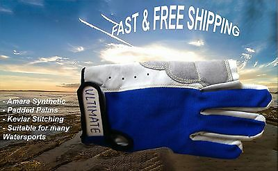 Gloves Sailing Kayak Canoe Ski Kite Board Windsurf Sailboard Full Finger Padded