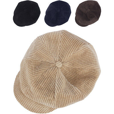 N343 Unisex Fashion 8 Panel Newsboy Cap Beret Cabbie Flat Golf Club Gatsby Hat