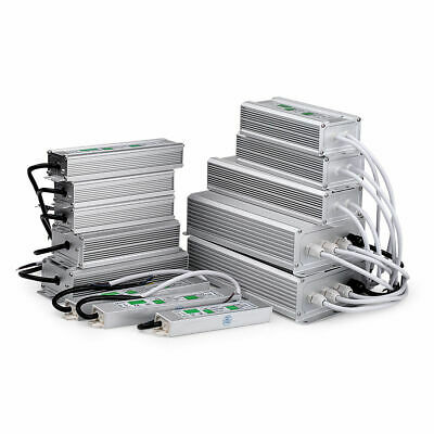 10W - 250W IP67 Waterproof LED Transformer Driver Power Supply for Strip DC 12V