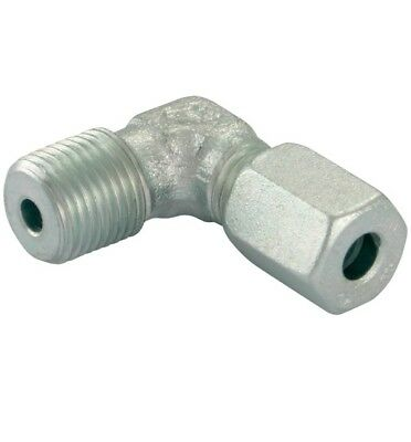 Hydraulic Stud Elbow 1/8bspt 6mm L Series Pk2