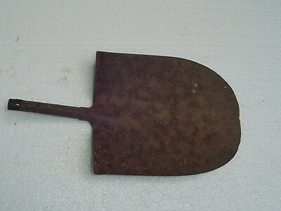 Primitive Stemmed SHOVEL unusual hand forged old vintage tool
