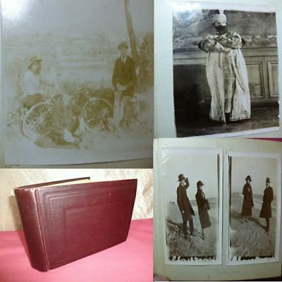 ALBUM 63 PHOTOGRAPHIES 1880/1930 Famille Bourgeoise Nice Guerre /Militaire