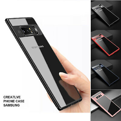 ShockProof Ultra Slim Hard PC Bumper Case Cover for Samsung Galaxy S8 S9 + Plus